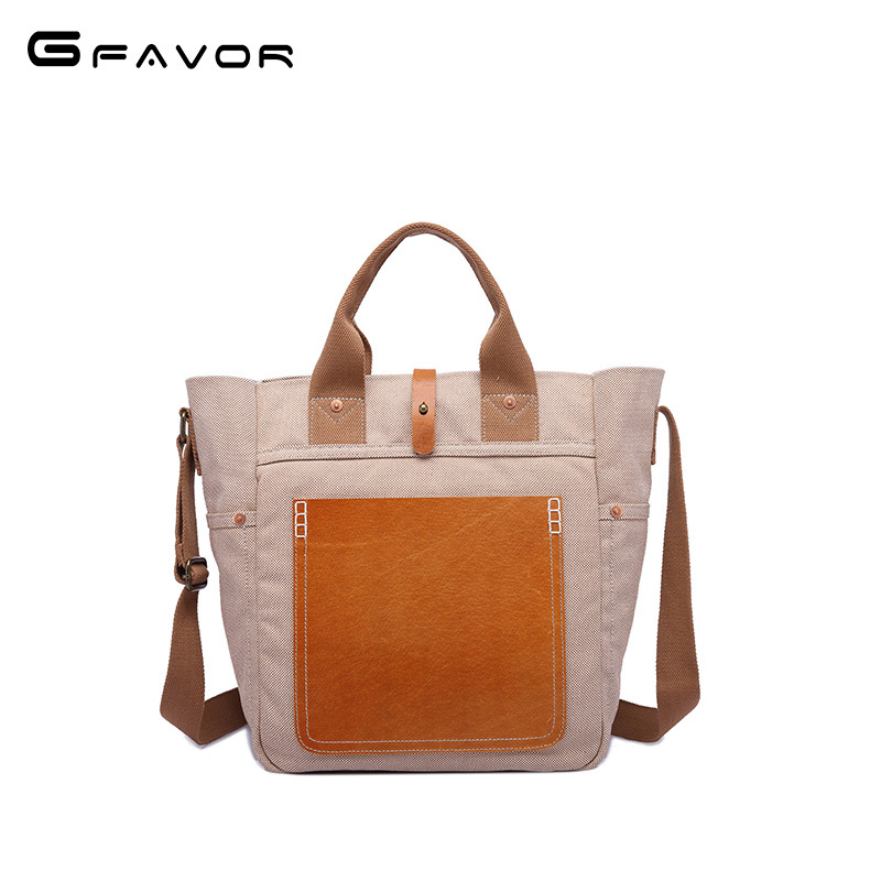 New Arrival High Quality canvas Leather Women Bag Shoulder Bags Plaid Handbag Large Capacity casual Top-handle Tote Bags women handbag shoulder bag messenger bag casual colorful canvas crossbody bags for girl student waterproof nylon laptop tote