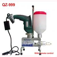 NEW Grouting QZ 999 High Pressure Filling Machine Epoxy Injection Pump With ELECTRIC WIRELESS REMOTE CONTROL