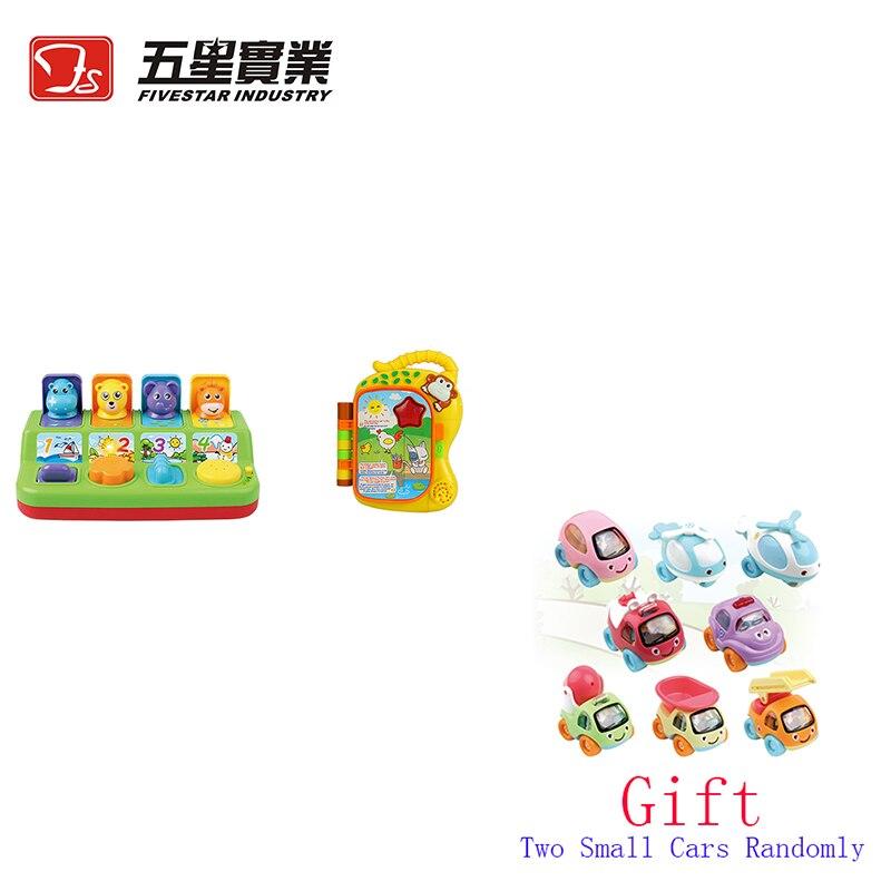 FS TOYS 1 SET 35887 & 35834B livre d'apprentissage singe et jeu Pop-Up jouets pour enfants musical enfants jouet éducatif chantant jouet