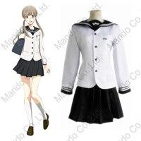 Anime Prince Of STRIDE Sakurai Nana Women Dress Cosplay Costumes Halloween Women School Girl Uniform Suit
