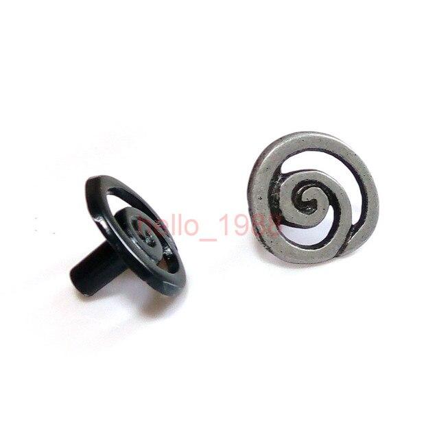 Negro gris solo agujero espiral estilo gabinete perilla manija ...
