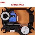 KHS-313A KHM-313AAA Original New Lens Laser Lasereinheit KHM313AAA Cabeça Do Laser + Mecanismo Para Sony CD/DVD