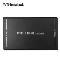 1080P HD Game Video Capture EC288H Drive Free USB 3.0 HDMI Video Capture Card Box HDMI Capture Dongle for Laptop PC