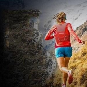 Image 5 - AONIJIE 2.5L Outdoor Lichtgewicht Hydratatie Backpack Rugzak Tas Vest Wandelen Camping Running Marathon 500ML Zachte Kolf