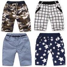 VIDMID/шорты для мальчиков; брюки; клетчатые хлопковые шорты для маленьких мальчиков; летние детские камуфляжные повседневные шорты для мальчиков; 4074 г