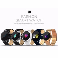 2018 Q8 Color Touch Screen Smartwatch Smart 1080P Watch Men Women IP67 Waterproof Sport Fitness Wearable Devices Electronics