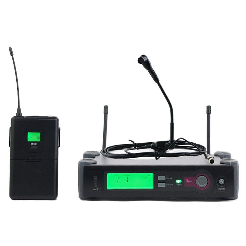 UHF Professional Wireless Microphone System SLX 14 Bodypack Transmitter Instrument Gooseneck Mic Guitar Saxophone Woodwinds