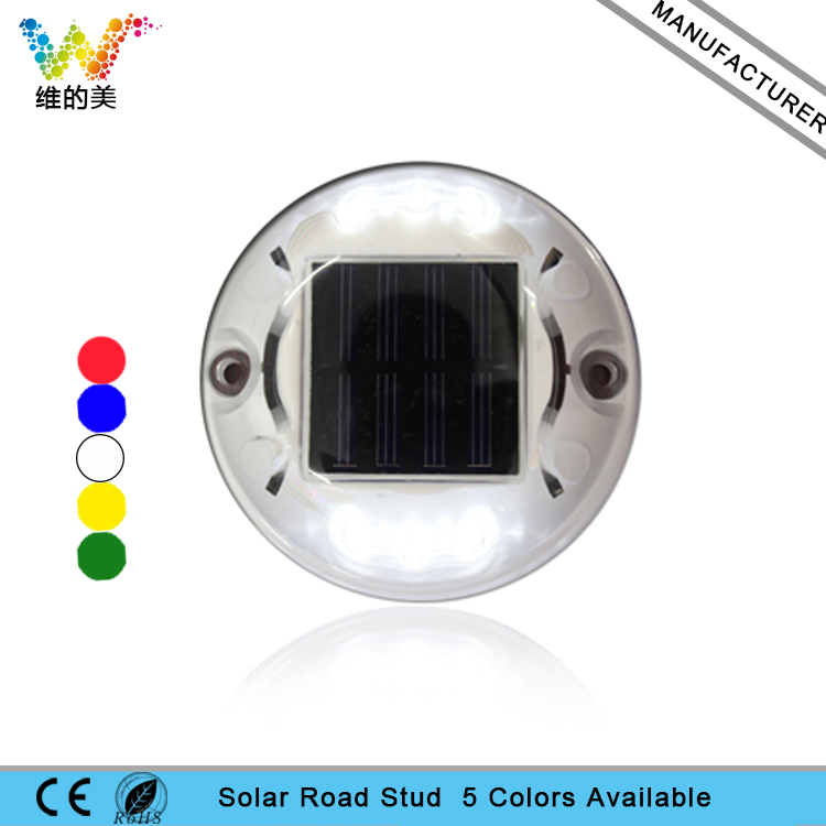 Australia Suburb Solar Powered Raised Plastic Road Stud Maker Pathway Deck Dock LED Flashing Light