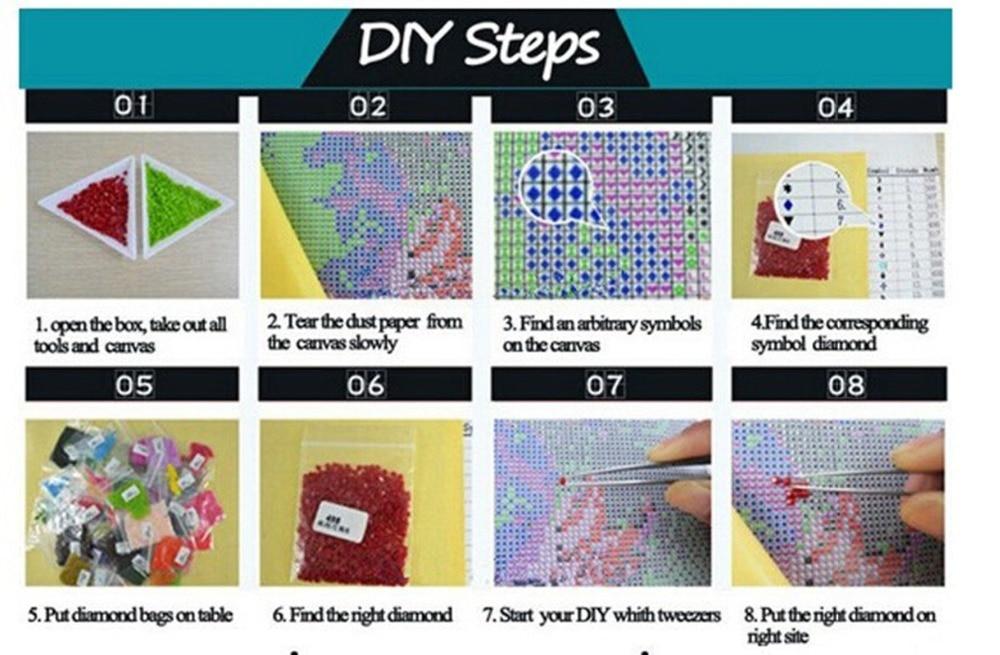 5D Diy Διαμάντι Ζωγραφική Κρύσταλλο - Τέχνες, βιοτεχνίες και ράψιμο - Φωτογραφία 5