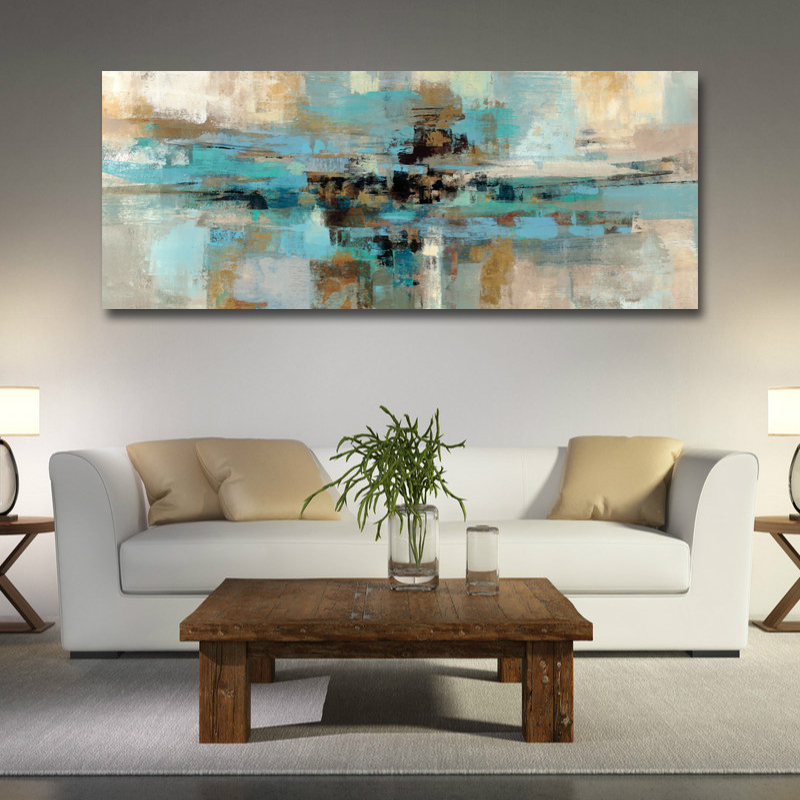 Modern Abstract Long Canvas Print Painting Pictures Posters And Prints For Living Room Home Decoration Wall Modern Abstract Long Canvas Print Painting Pictures Posters And Prints For Living Room Home Decoration Wall Art No Frame