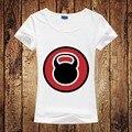 New Designer Das Mulheres T Da Moda 2016 T shirt Mulheres Crossfit T-shirt Casual O Pescoço Mulheres Tops de Manga Curta T-shirt Frete Grátis