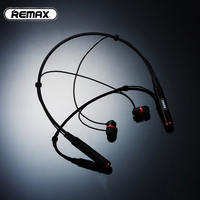 Remax RB S6 Neck Hanging Wireless Bluetooth Sports Earphones Bass Stereo Music Earphones With MIC Multi