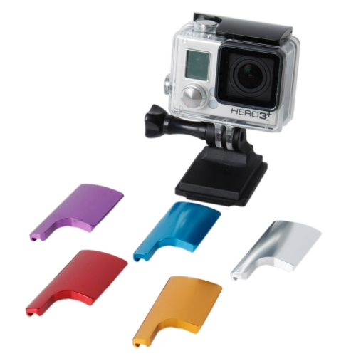 Go Pro Accessories  Sport Gear CNC Aluminum Housing Back Door Clip lock buckle  for Gopro Hero 4 3+  Waterproof case Lock Catch