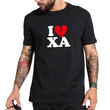 Amo Lil Xan Rapper camiseta hombres camisa de manga corta Hombre moda  Streetwear Hip Hop Tops 2b51a6ff16e