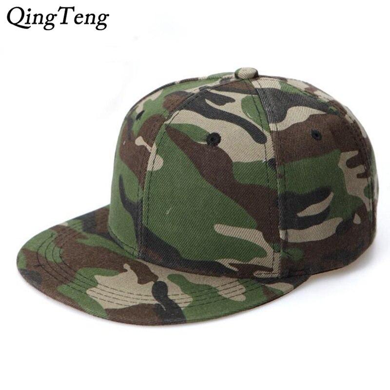 Gorras de Hombre Bone Masculino Unisex Women Men Camouflage Baseball Cap Snapback Hip Hop Flat Hat Mens Cap
