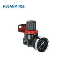 цена NBSANMINSE AR2000 BR2000 1/4 3/8 1/2 Air Regulator SMC Type Air Source Treatment Unit FRL Parts Air Valve онлайн в 2017 году