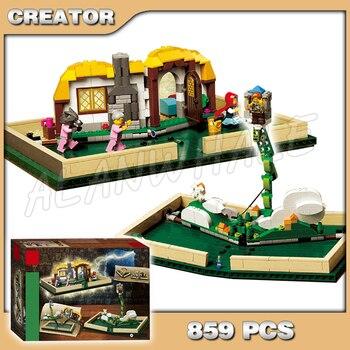 859 Uds nuevo SY1248 libro Pop-Up bloques juguetes juego de ladrillos Compatible con Lago