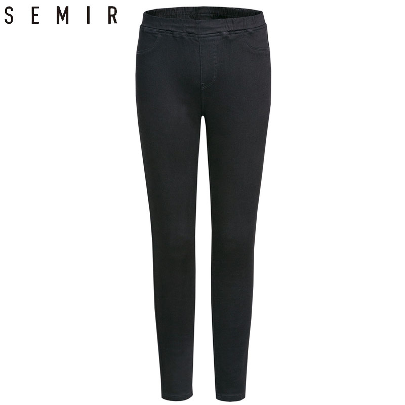 SEMIR Jeans For Woman 2019 Winter New Fashion Skinny Denim Keep Thin Women's Trousers Classic Leggings For Students Clothes