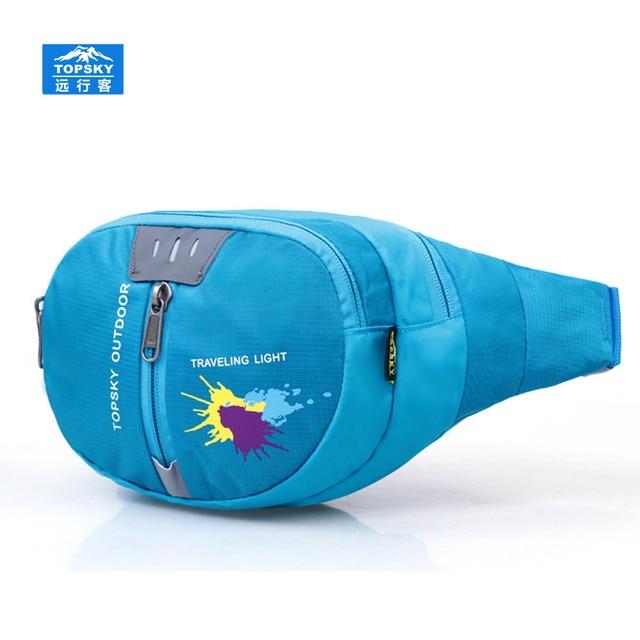 Topsky 5L fanny pack sports bag Waterproof women bag military equipment cycling waist bag belt bag men mochilas coach handbags