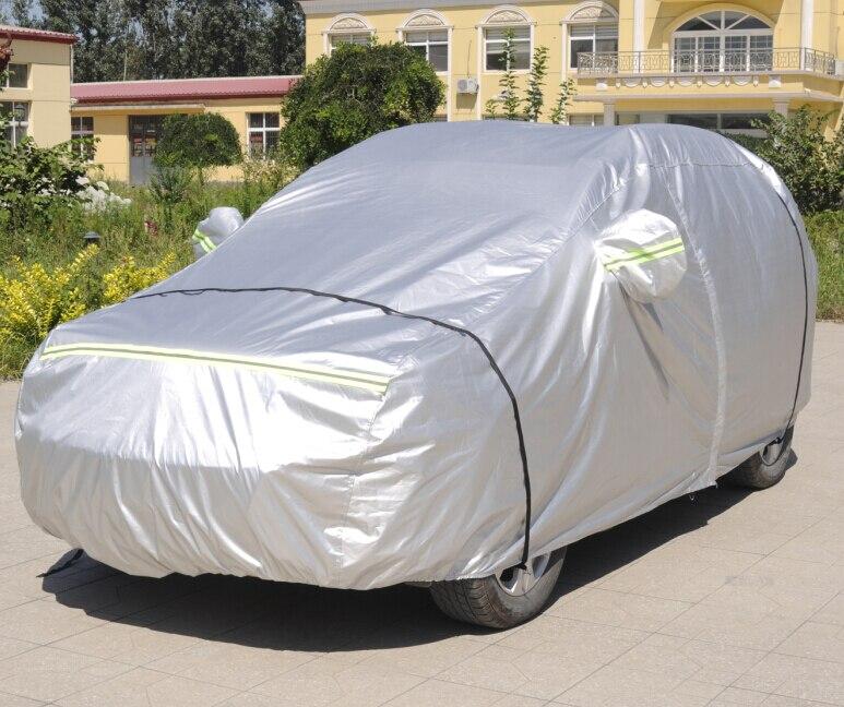 Bonne qualité! Bâches de voiture spéciales faites sur commande pour la bâche de voiture imperméable de protection solaire de la classe X166 2015-2013 de Mercedes Benz GL, livraison gratuite