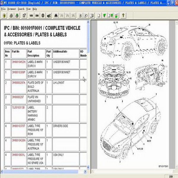 04  2010 Repair Workshop Service Manual Epc Assist Ietis