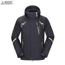 Зимняя куртка Для мужчин брюки Лыжная куртка Для мужчин Сноубординг куртки Для мужчин; лыжный костюм мужской спортивный костюм Водонепроницаемый зима Лыжный Спорт Штаны