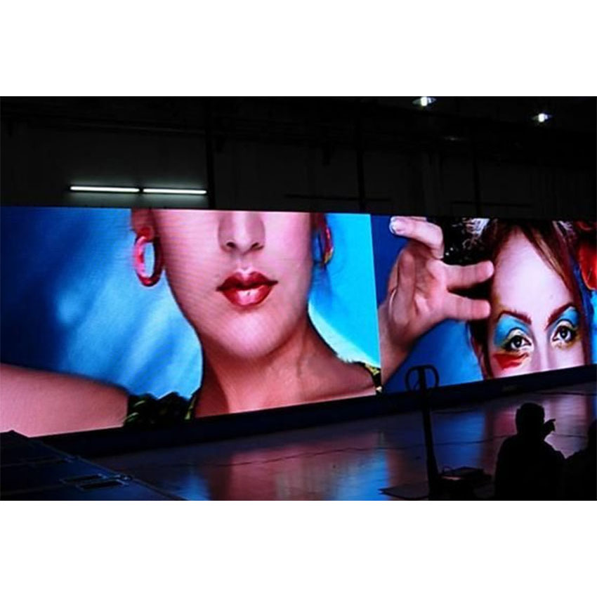 Indoor LED Display Die Casting Aluminum Cabinet 576×576mm 96*96Pixels P6 SMD3528 RGB LED Screen Rental