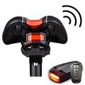 Беспроводной велосипедный умный задний светильник, защита от кражи, защита от взлома, светильник Romote с датчиком удара, безопасный светильни...