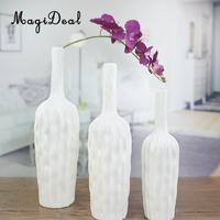 MagiDeal Modern Ceramic Plant Pot Flower Holder Vase Table Ornament Home Decor