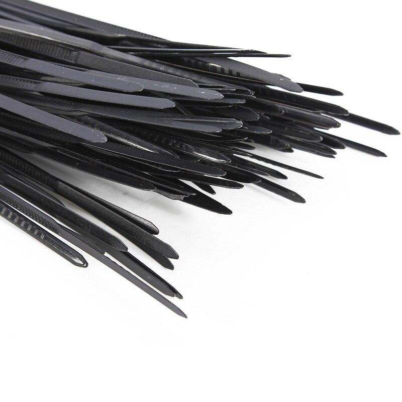 Neueste 100 stücke Nylon Kunststoff Zip Trim Kabel ...