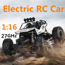 28cm 27GHz Off Road Climbing Four Wheel Buggy Monster Vehicles Kids Funny