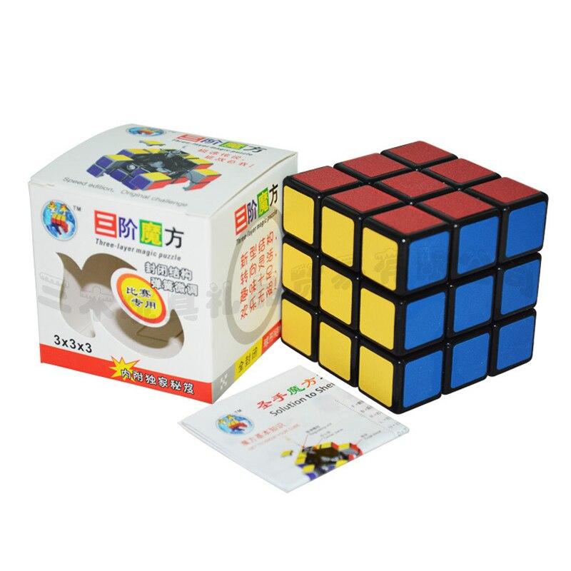 Shengshou Pista 58mm Cubo Mágico De Alta Calidad Mate Colorido Pegatina Rompecabezas Cubo Velocidad Suave Competición Neo Cubo Clásico Juguetes úLtima Moda