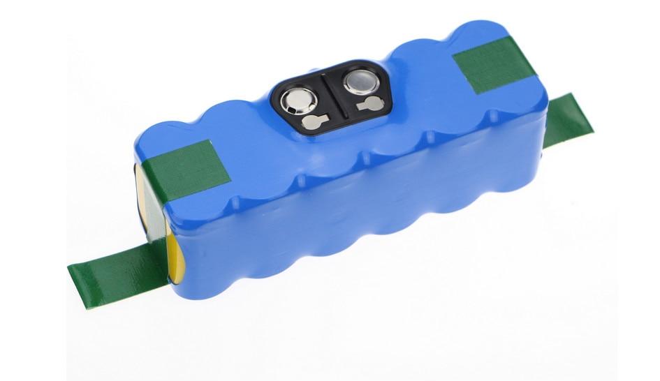 Batterie de remplacement de batterie de puissance Li-ion bleue 6000 pour iRobot Roomba 500,600,700,800 livraison gratuite