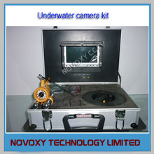 7″ LCD Underwater Video Fishing Camera Kit With 24pcs LEDs CCD Fishing underwater Camera Monitor System