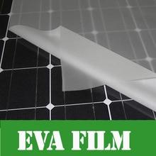 5m x Width 1000mm thick 0 4mm EVA FILM for Solar Cell Encapsulation DIY Solar Lamination