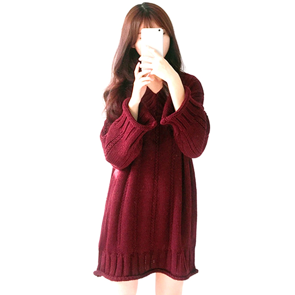 Excellent Funny Fashion Modern Faddish Sweater Dress Lovely Women 2018 Unique Vintage Classical Products