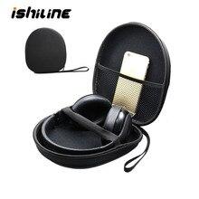 Shockproof Headphone Storage Bag Gadgets Electronics Organizer Earphone Box Black Travel Cable Bag
