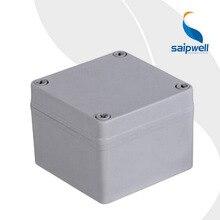 waterproof plastic ABS enclosure junction box 100 100 75mm SP 02 101075