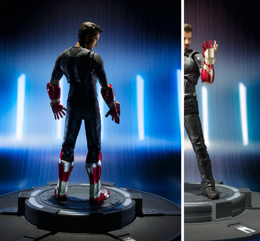 NEW Iron man Avengers Tony Stark infinity wars MK50 iron Spider Man Homecoming marvel action figure toys Christmas gift doll
