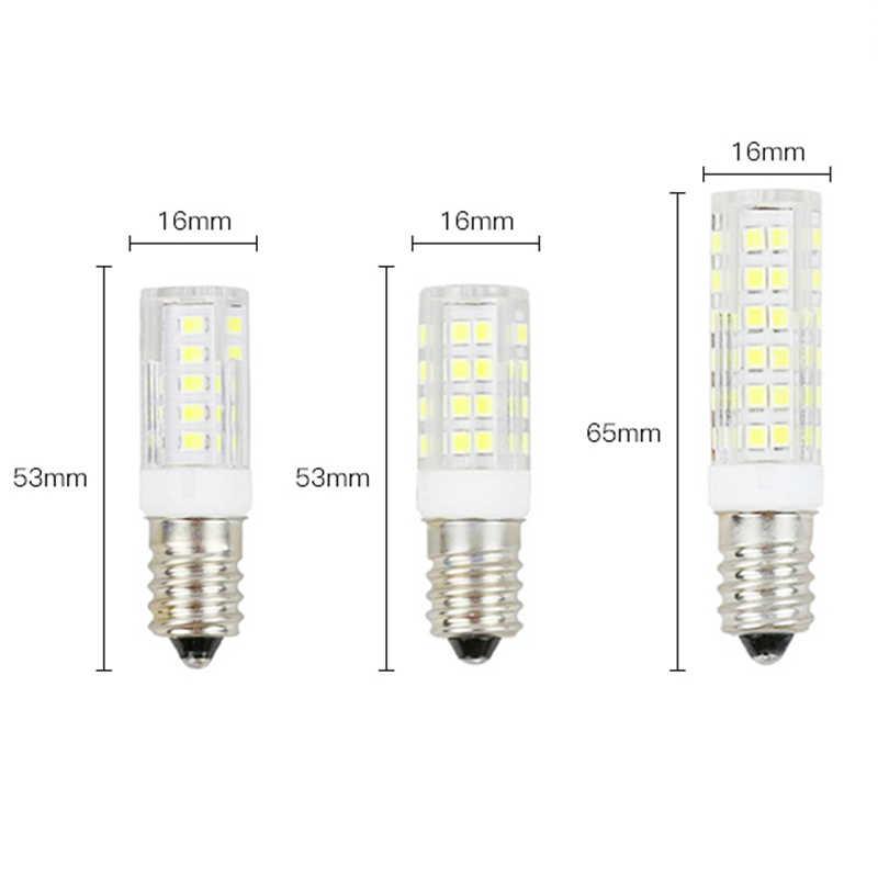 Супер яркий E14 светодиодный 5 Вт, 7 Вт, 9 Вт, 12 Вт, 15 Вт AC 220 V прозрачная Светодиодная лампа-прожектор для люстра высокого Мощность 2835 SMD возможность замены галлогеновой лампой