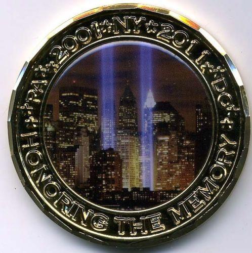10 e anniversaire 11 sept. hommage au défi militaire de la mémoire pièce les Forces armées américaines poursuivent la Justice 911 pièces