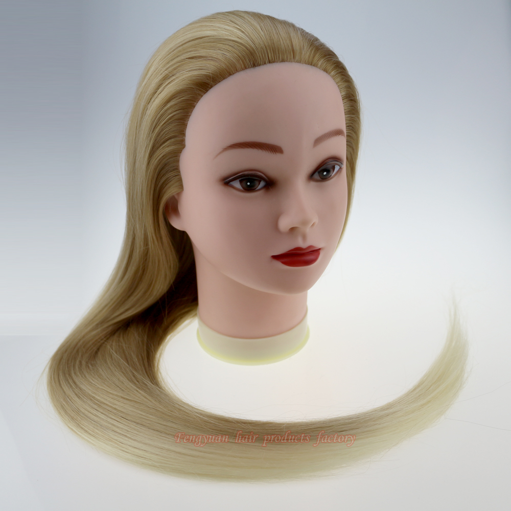 mannequin heads for hair styling 2016new two tone hairdressing doll heads hair styling 7743