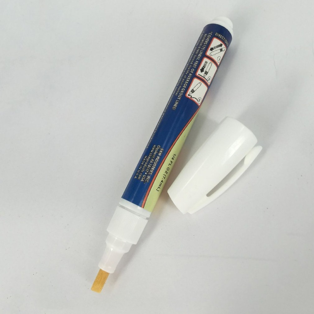 Lightweight Repair Tile Marker Durable Grout Pen For Seams