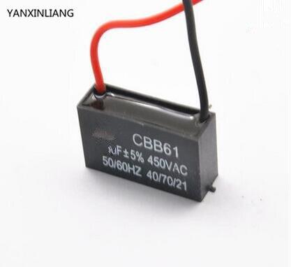 Cbb61 4uf 450v Starting Capacitor 4uf Fan Start Capacitor