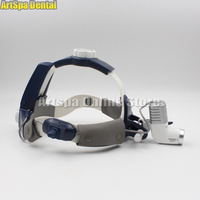 5W LED Dental Surgical Headlight Lamp All in one With 3.5X420mm Binocular Galileo Frame Loupe Magnifier