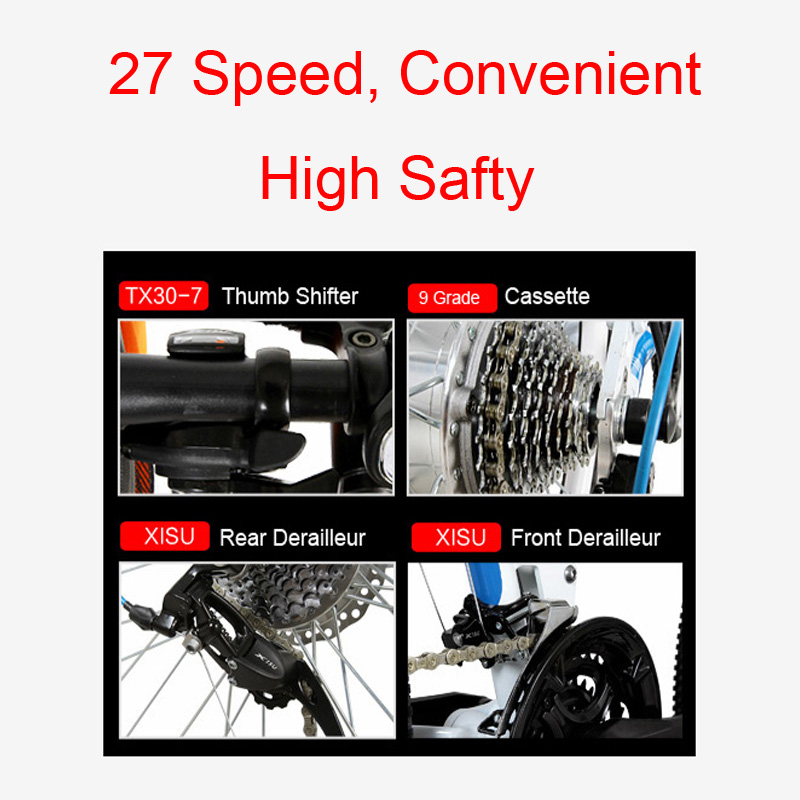 TX660D 500W 26 Full Suspension Folding Electric Bike,Full Suspension, High Quality E Bicycle,Mountain Bike, 27 Speed E Bike