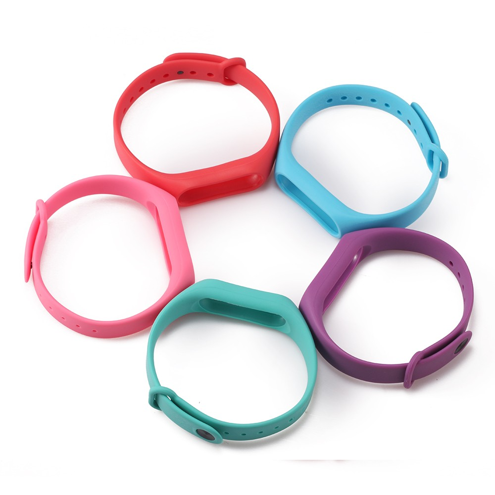 For Xiaomi Mi Band 2 Bracelet Strap Miband 2 Colorful Strap Wristband Replacement Smart Band Accessories For Mi Band 2 Silicone 15