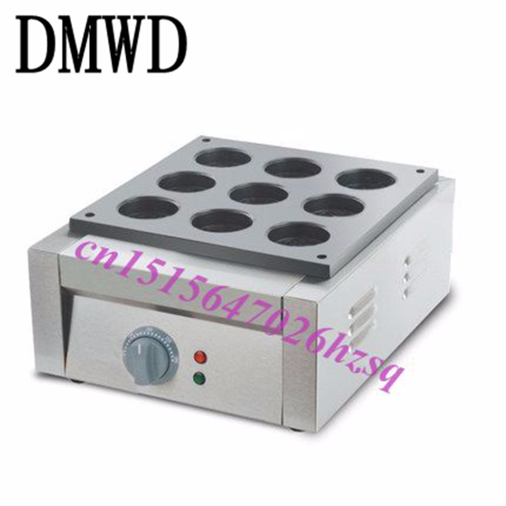 Фото DMWD Electric Red Bean Waffle Baker Maker machine The wheel bread machine cooking tools