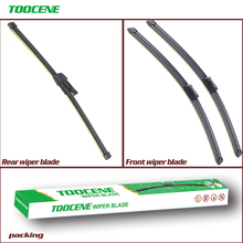 Front and Rear Wiper Blades Set For Skoda Yeti 2009 2010 2011 2012 2013 Windshield Windscreen wiper  Window 24+19+11