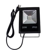 10pcs Led Floodlight RGB10W 20W 30W 50W Outdoor Spotlight Flood Light AC85V- 240V Waterproof IP65 Professional Lighting Lamp